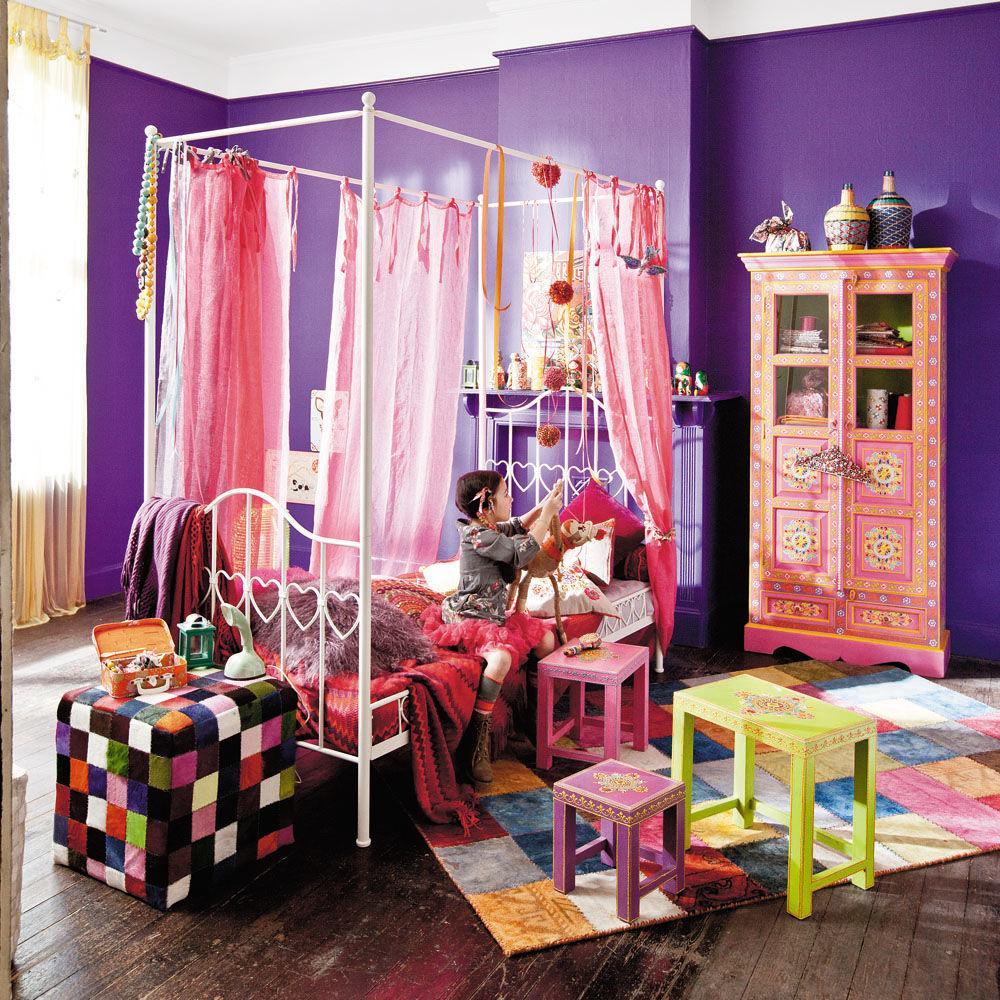 Letto a baldacchino per bambini - Eglantine Eglantine  Maisons du ...