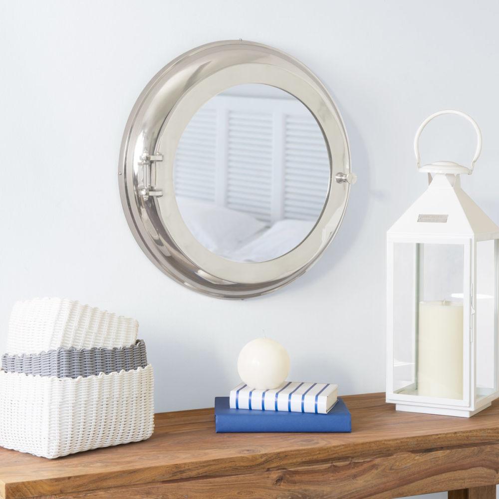 miroir rond maison du monde comment un salon douillet couleurs et nuances le blog miroir maison. Black Bedroom Furniture Sets. Home Design Ideas