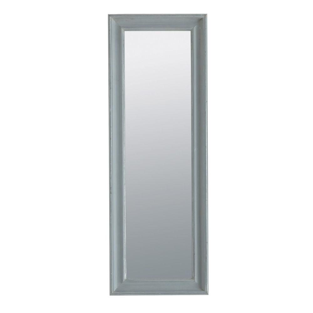 Miroir elianne gris 44x124 for Grand miroir gris