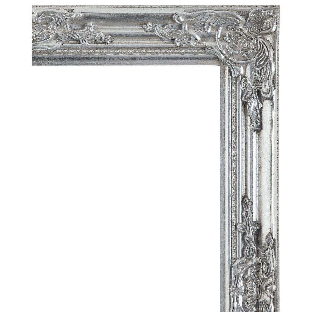 Zilverkleurige enzo spiegel 73x63 maisons du monde - Spiegel rivoli huis van de wereld ...