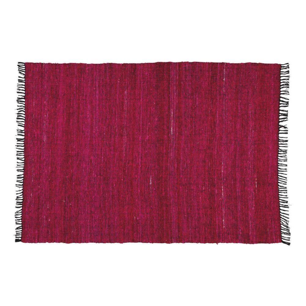 tapis rouge cobalt 160x230 maisons du monde. Black Bedroom Furniture Sets. Home Design Ideas