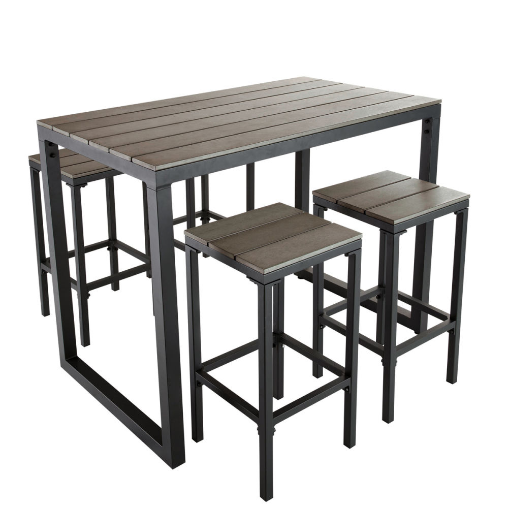 Table rabattable cuisine paris table jardin haute for Table haute de jardin