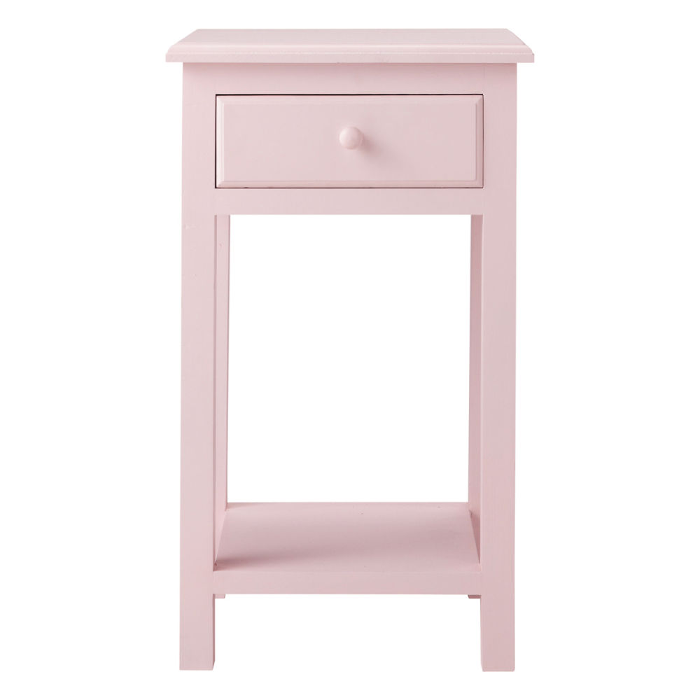 chevet enfant rose pastel maisons du monde. Black Bedroom Furniture Sets. Home Design Ideas