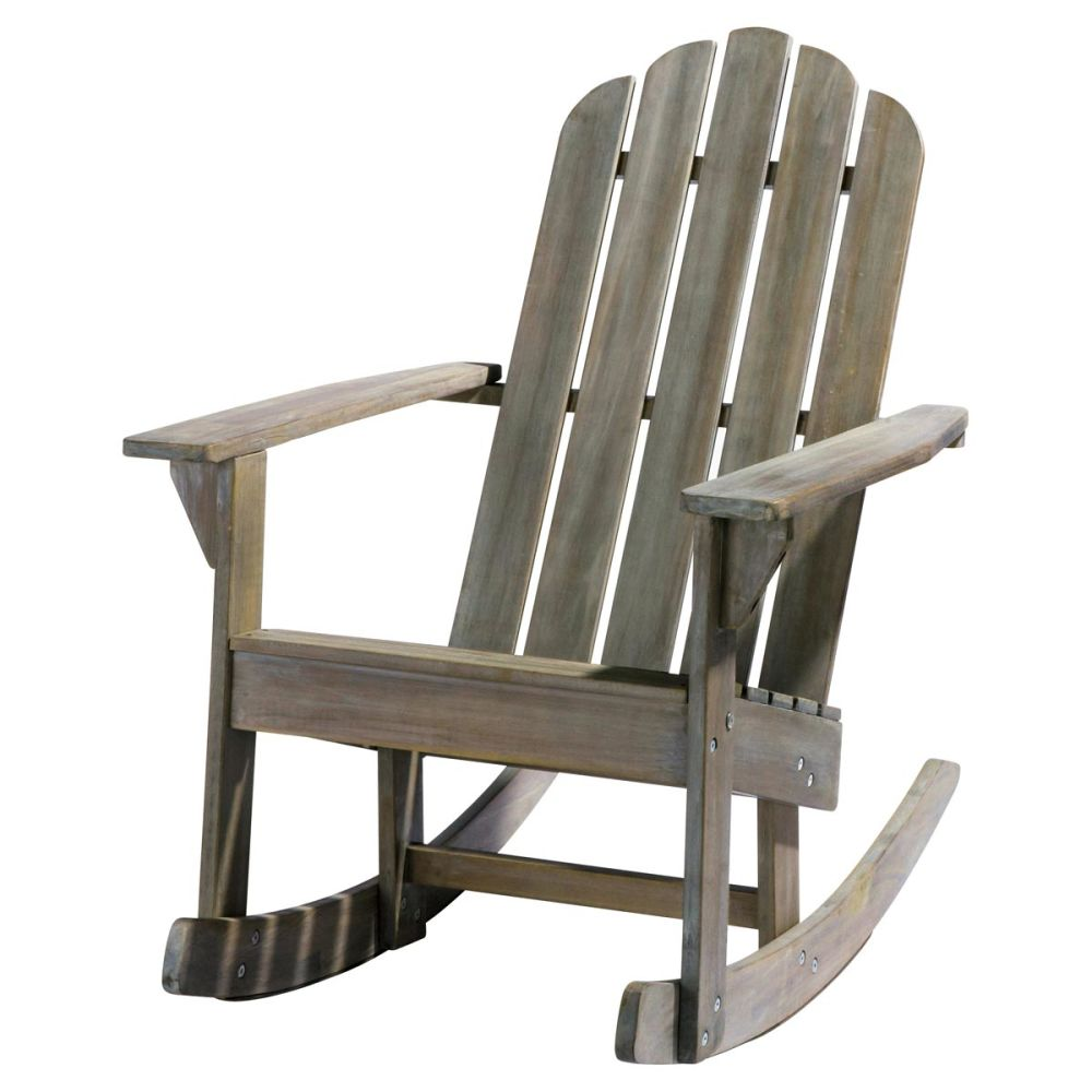Kid s grey wood garden rocking chair ontario ontario - Chaise de relaxation ...