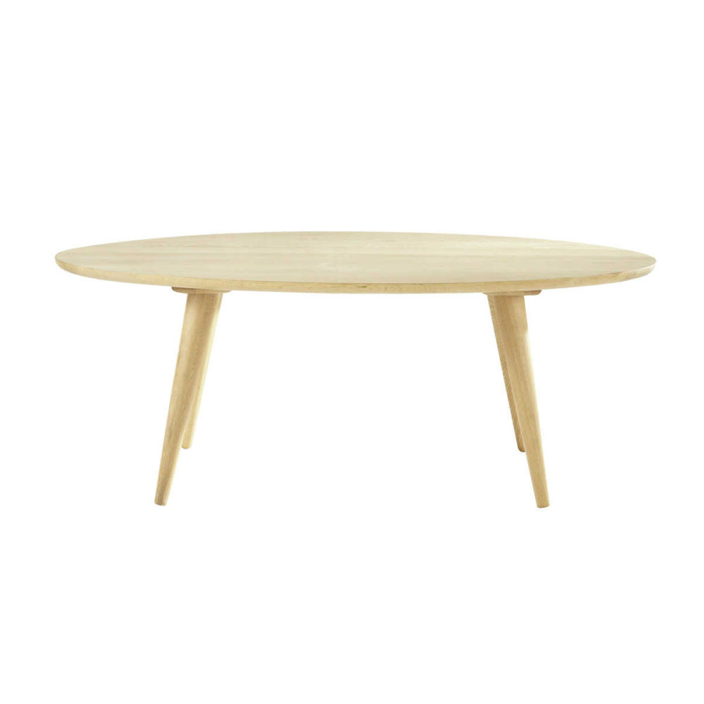 Table basse vintage en ch ne massif l 120 cm norway for Table basse maison du monde