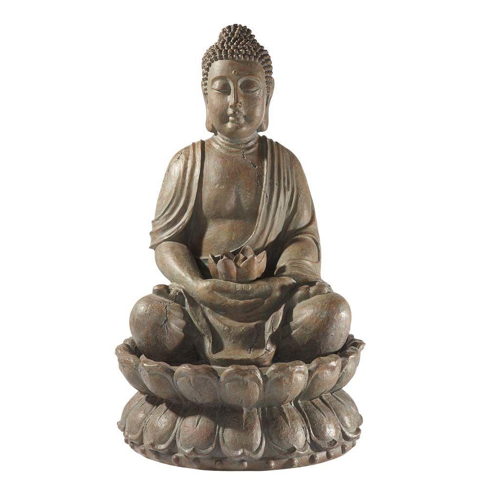 Fontaine bouddha exterieur - Lampe bouddha maison du monde ...