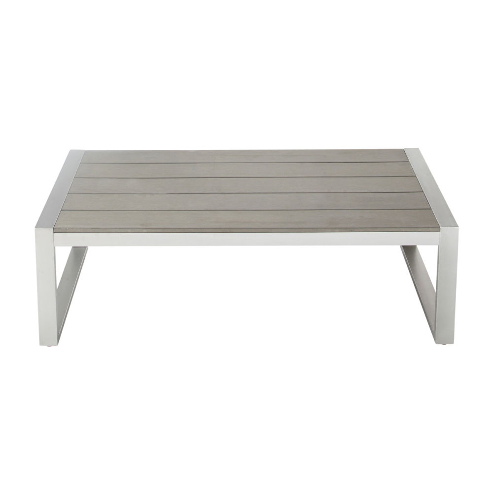 Table basse d exterieur for Table d exterieur en aluminium