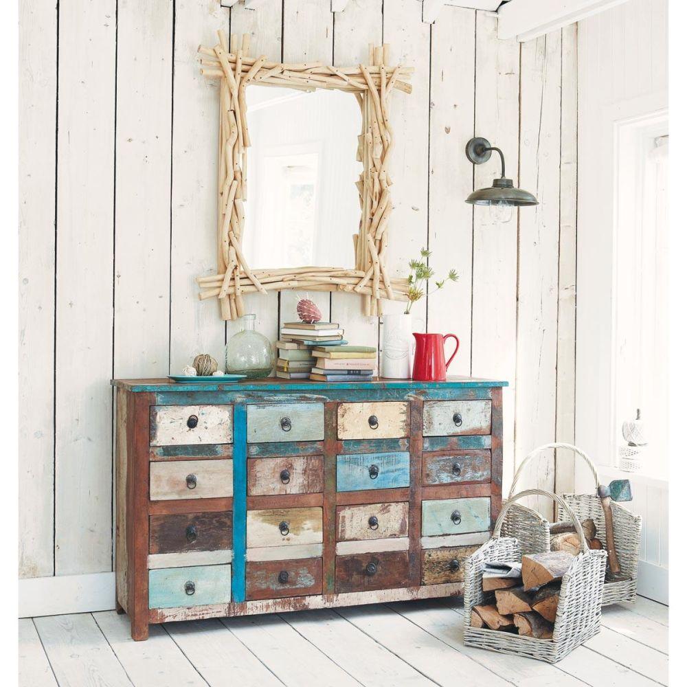 Miroir Bois Flotte Maison Du Monde : voir d autres miroirs petit format miroirs voir d autres produits du
