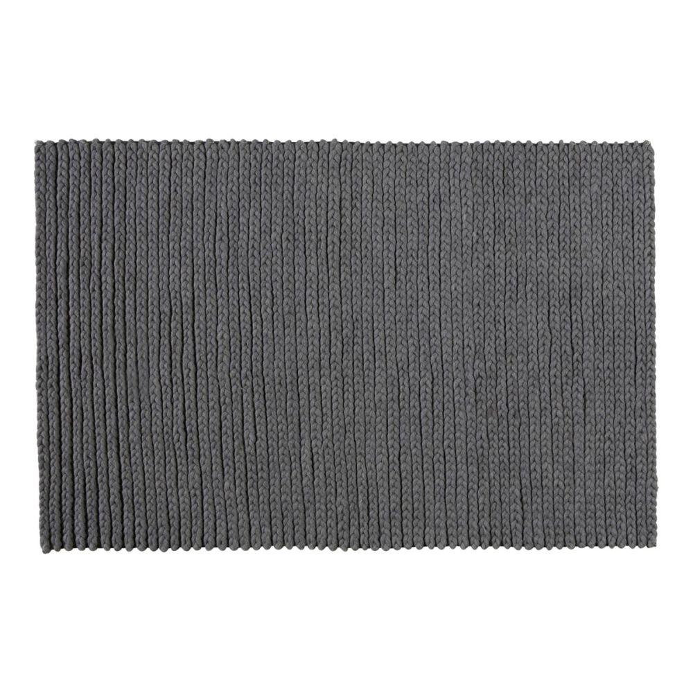 Maisons du monde - Tapis gris anthracite ...
