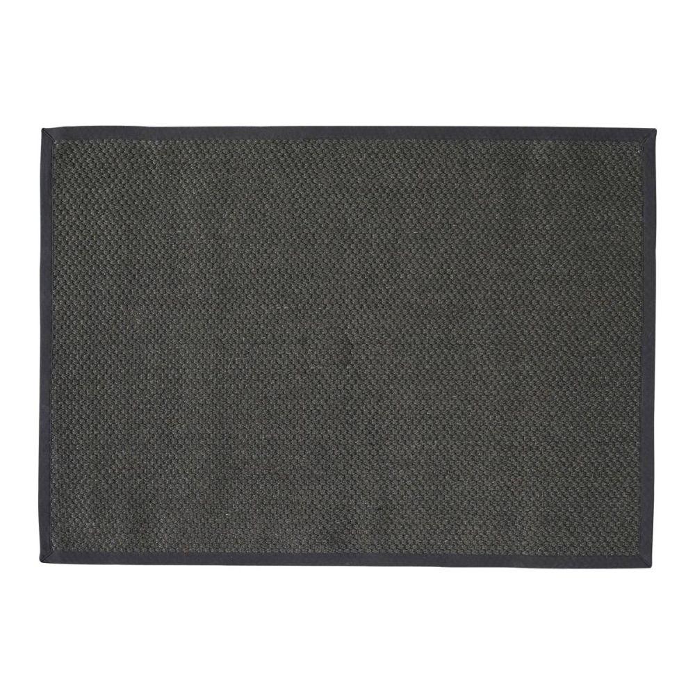 Tapis bastide gris anthracite 140x200 - Tapis gris anthracite ...