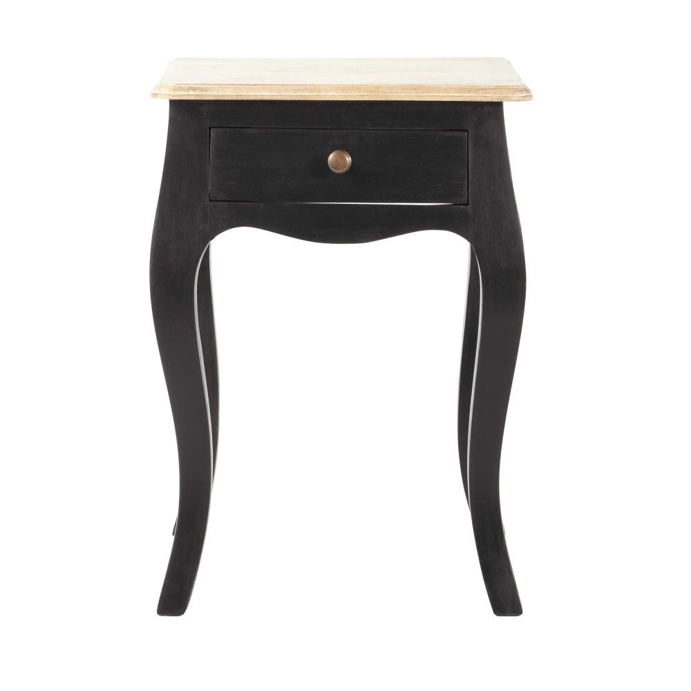 tables de chevet maison du monde trendy table de chevet avec tiroir en mtal l cm with tables de. Black Bedroom Furniture Sets. Home Design Ideas