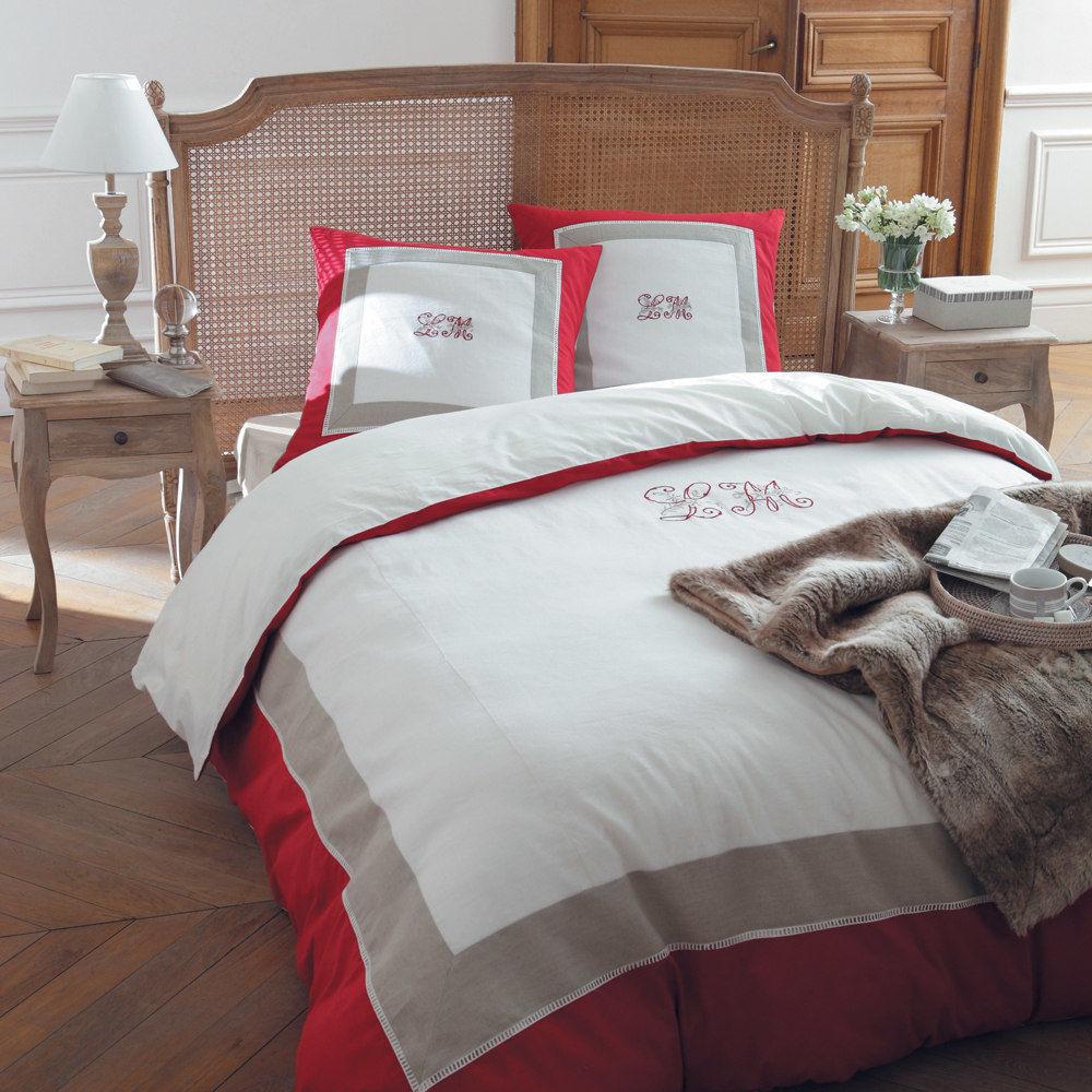 parure housse de couette la maison 220x240 maisons du monde. Black Bedroom Furniture Sets. Home Design Ideas
