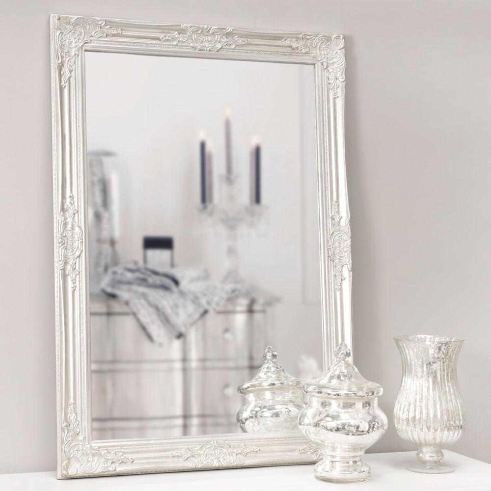 Specchio Enzo Argento 103x73 Maisons Du Monde