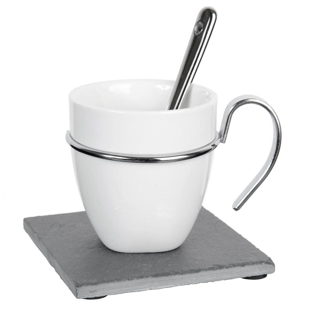 Coffret 6 tasse caf ardoise maisons du monde - Maison du monde tasse ...