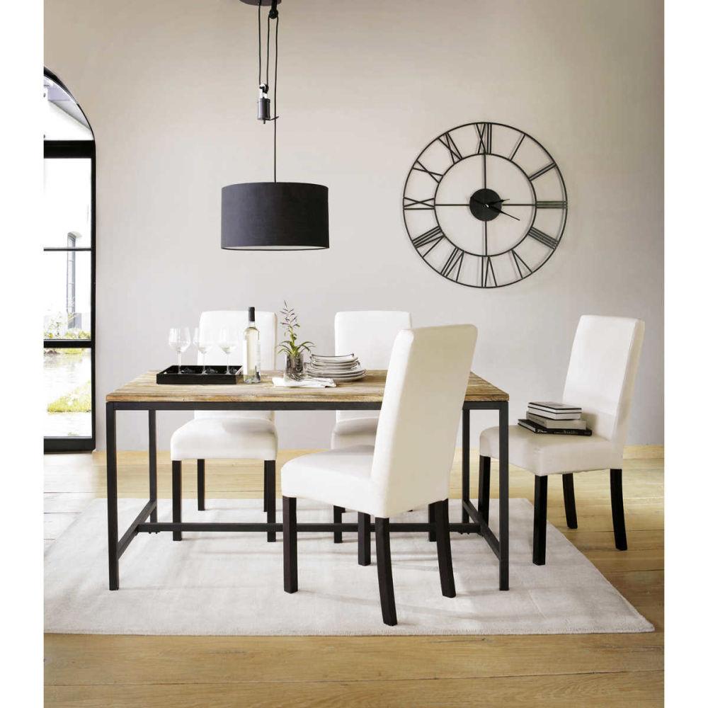 #846C47 Uhr Im Industriestil Sirius Maisons Du Monde 4527 decoration salle à manger maison du monde 1200x1200 px @ aertt.com
