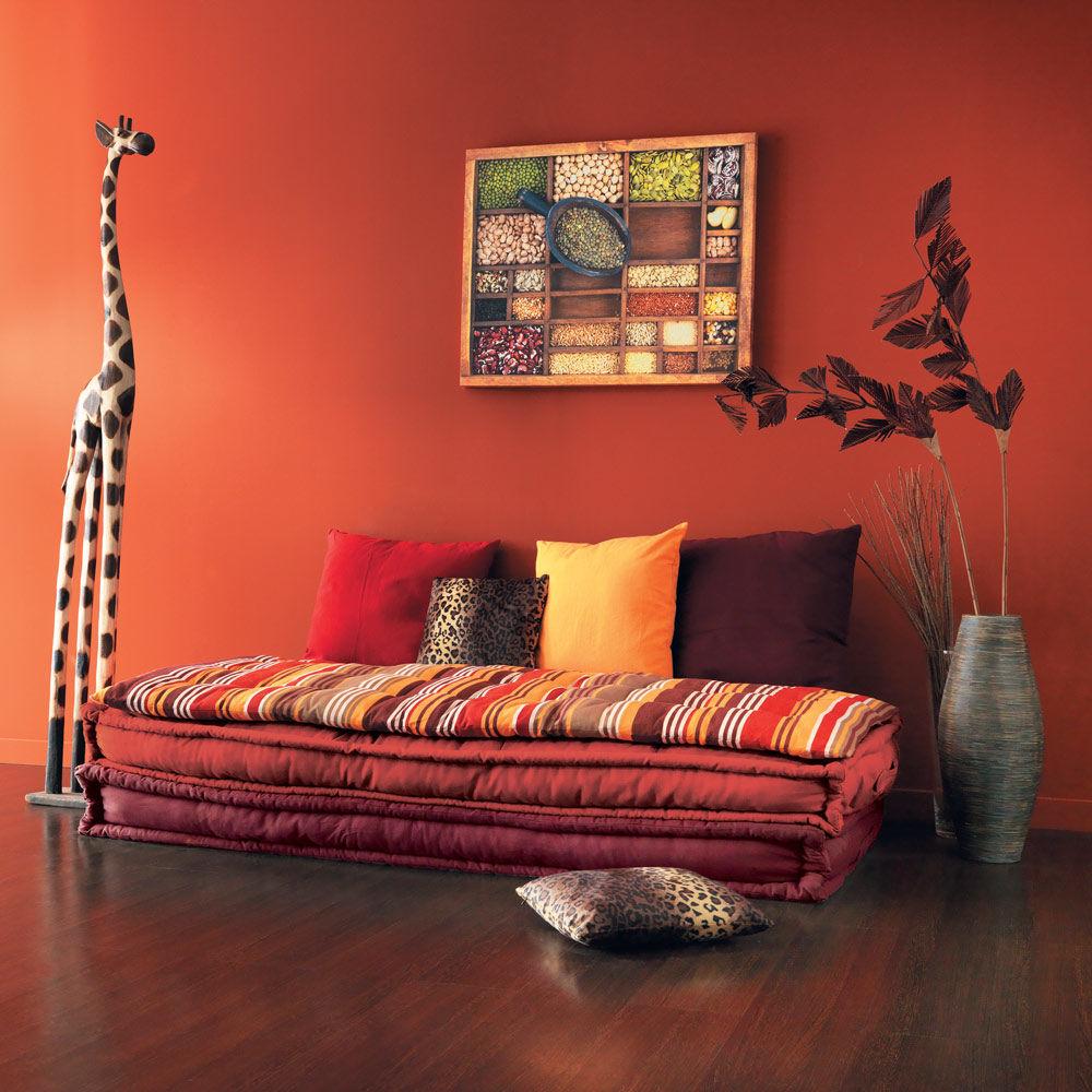 Banquette 2 3 places en coton multicolore provence maisons du monde - La maison du canape avis ...