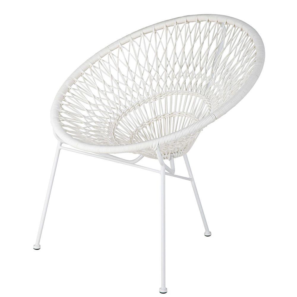 Impressionnant fauteuil de jardin sabakunohana - Fauteuil en fil de resine ...