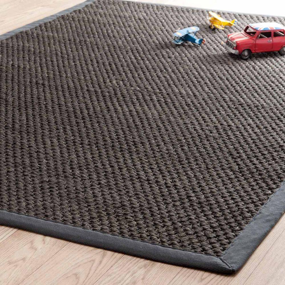 tapis bastide gris anthracite 160x230 maisons du monde. Black Bedroom Furniture Sets. Home Design Ideas