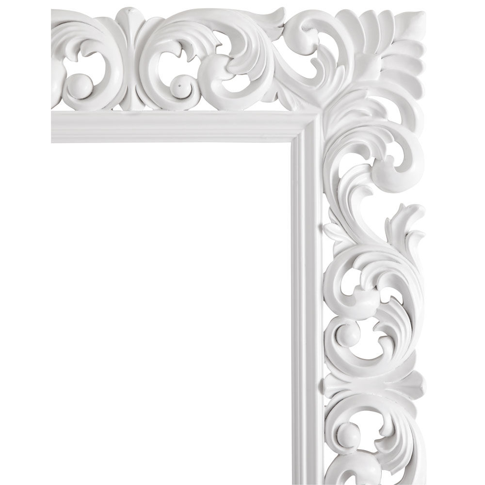 Miroir rivoli blanc 190x80 maisons du monde for Miroir 70x90