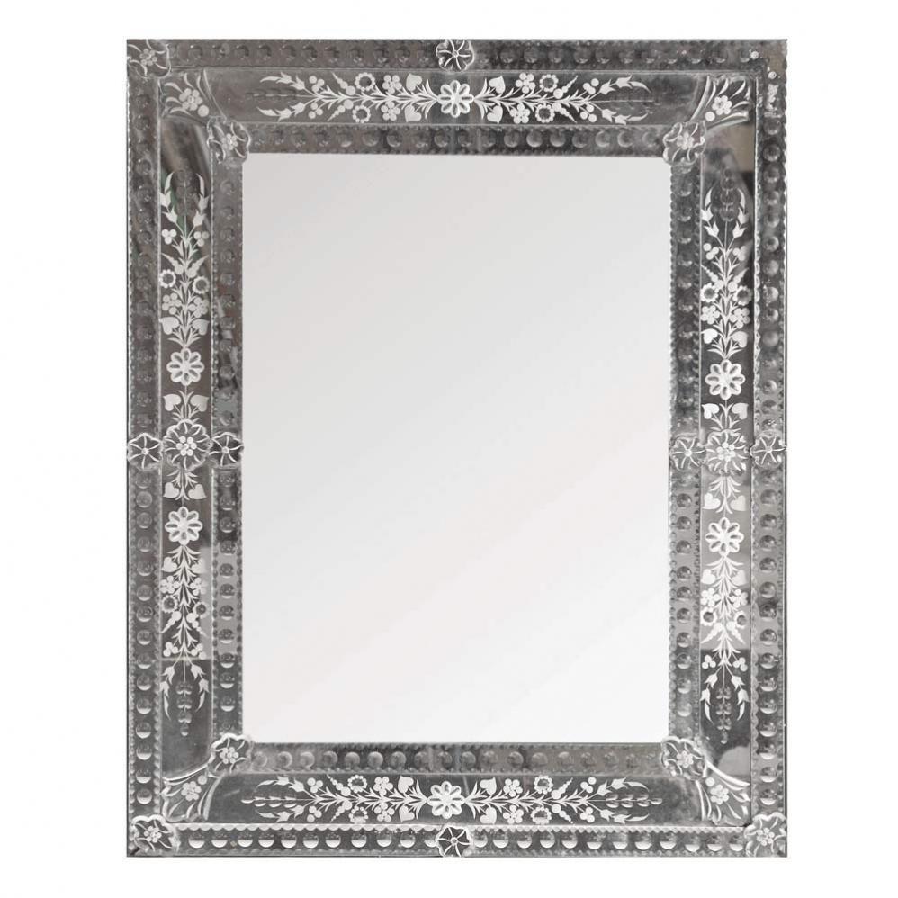 Miroir en verre h 90 cm v nitien maisons du monde for Miroir fenetre maison du monde