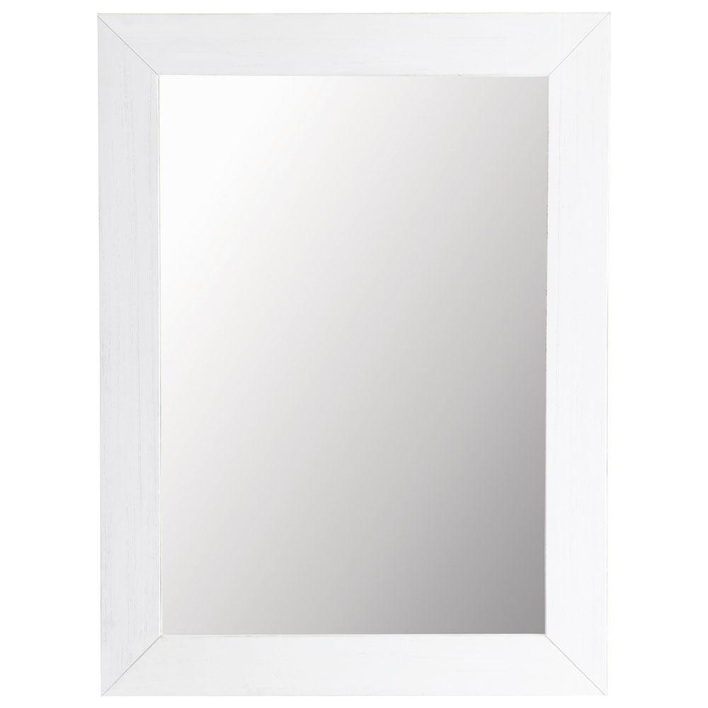 miroir natura blanc 90x120 maisons du monde