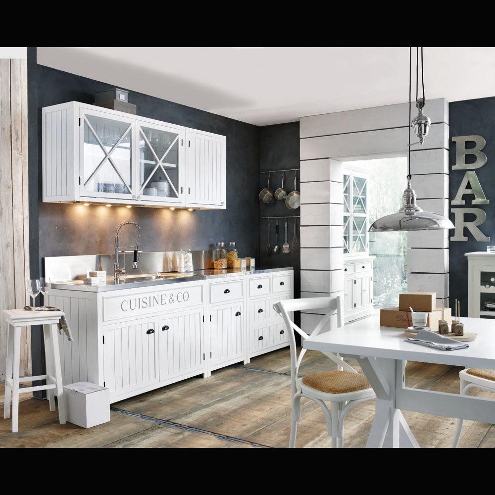 Meuble cuisine avec porte vitree meuble haut cuisine vitre for Cuisine avec vitre atelier
