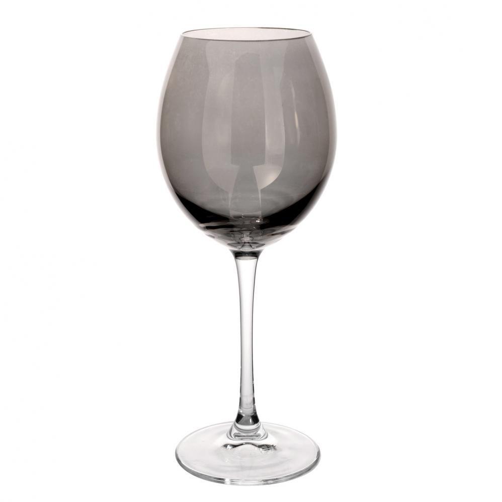 Verre vin en verre gris lustr maisons du monde - Verre maison du monde ...