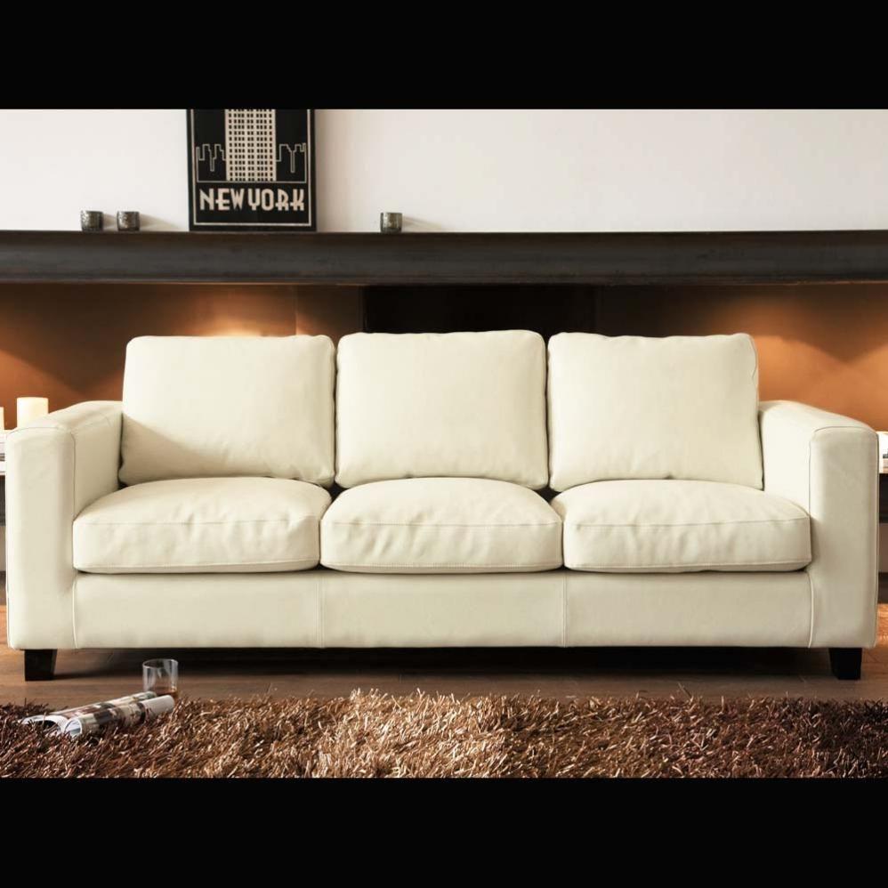 Sofa Ecru, seats three  Kennedy