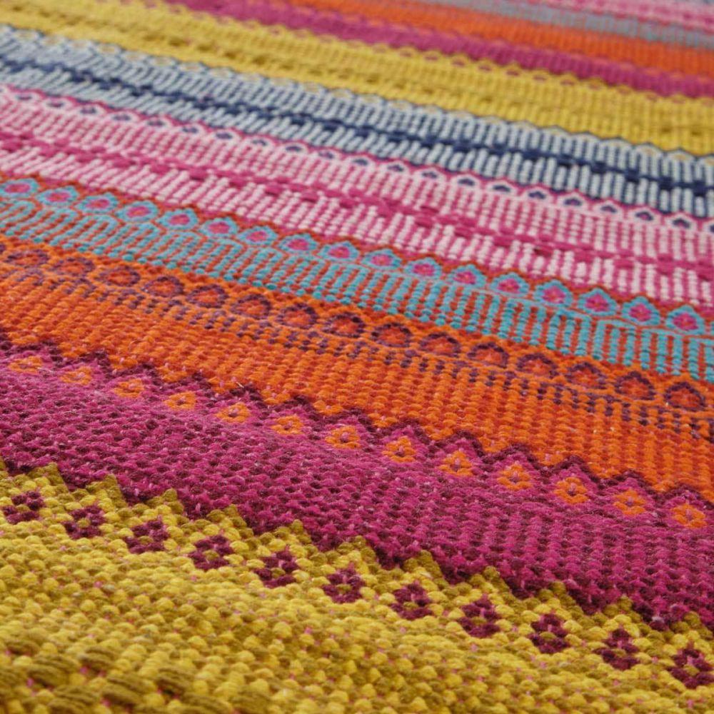 teppich bunt kigali 140x200 maisons du monde