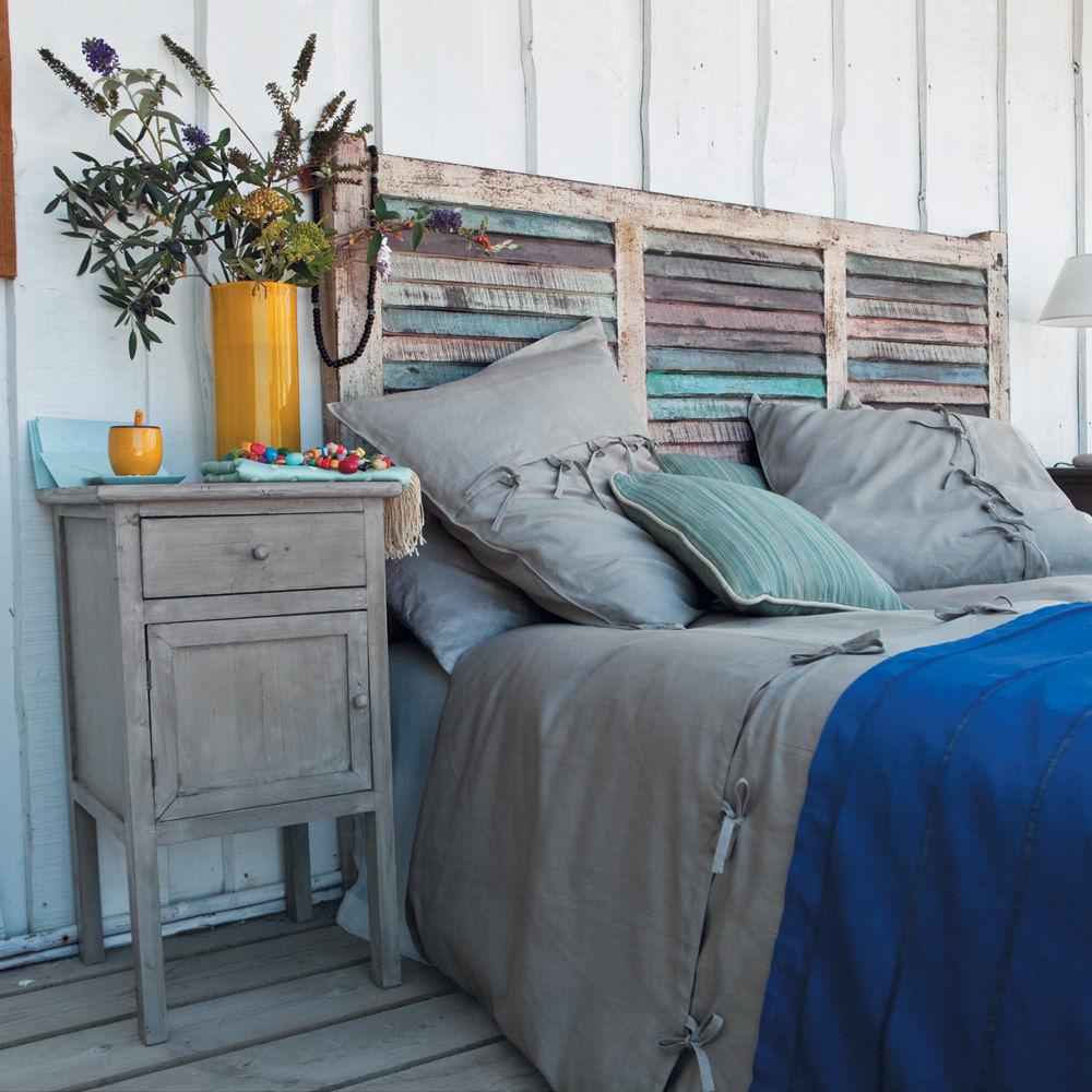 Tete de lit blanche 160 - Ziloo.fr