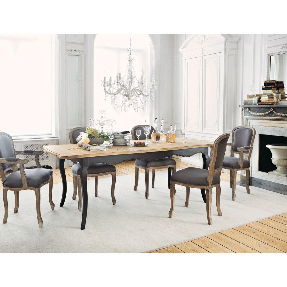 Lustre pampilles 12 branches en m tal blanc d 73 cm - Maison du monde chaises salle a manger ...