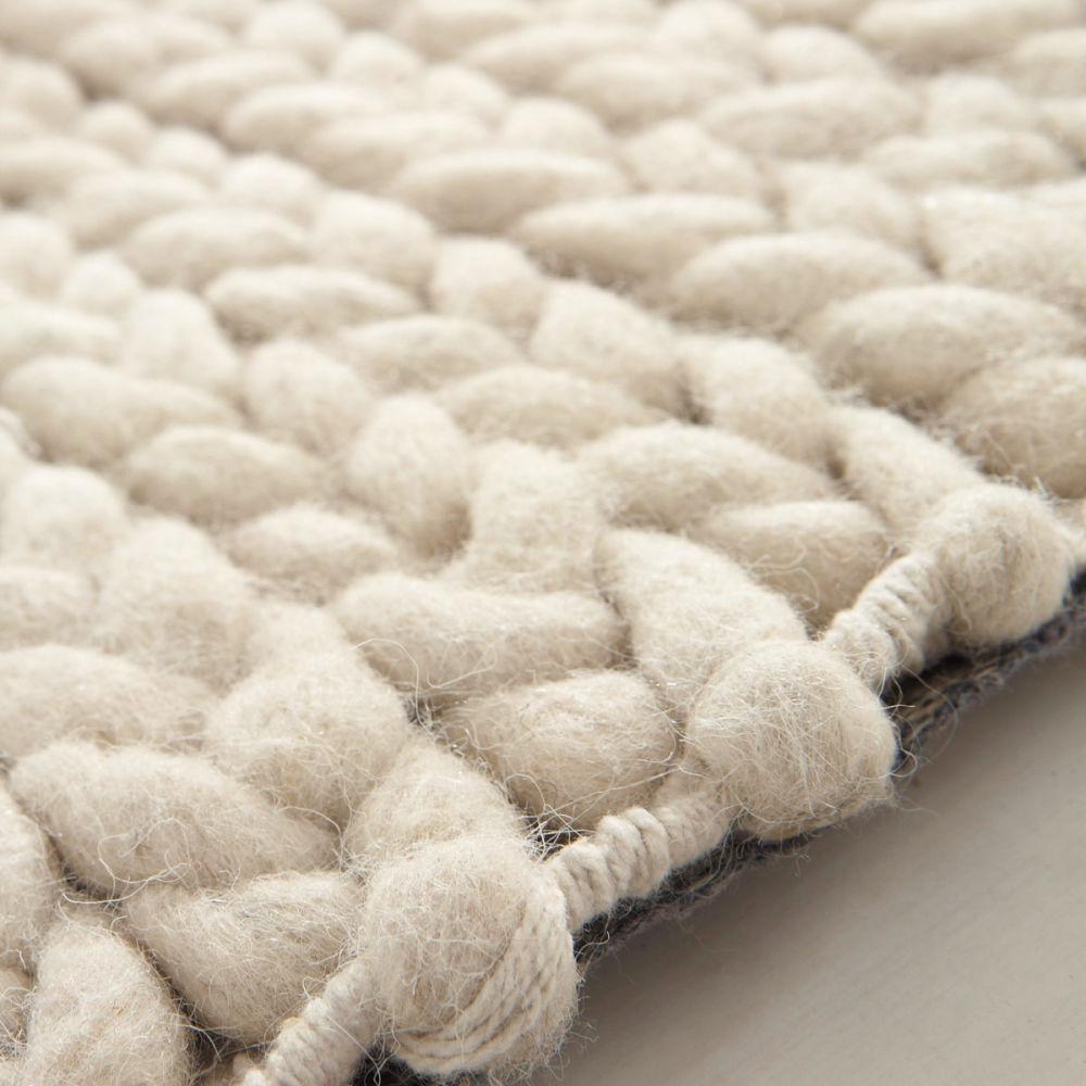 Teppich beige Stockholm 140×200  Maisons du Monde