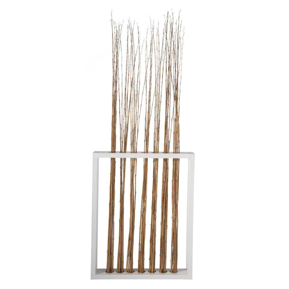 Paravent en bois et bambou l 88 cm maisons du monde - Paravent bambou ikea ...