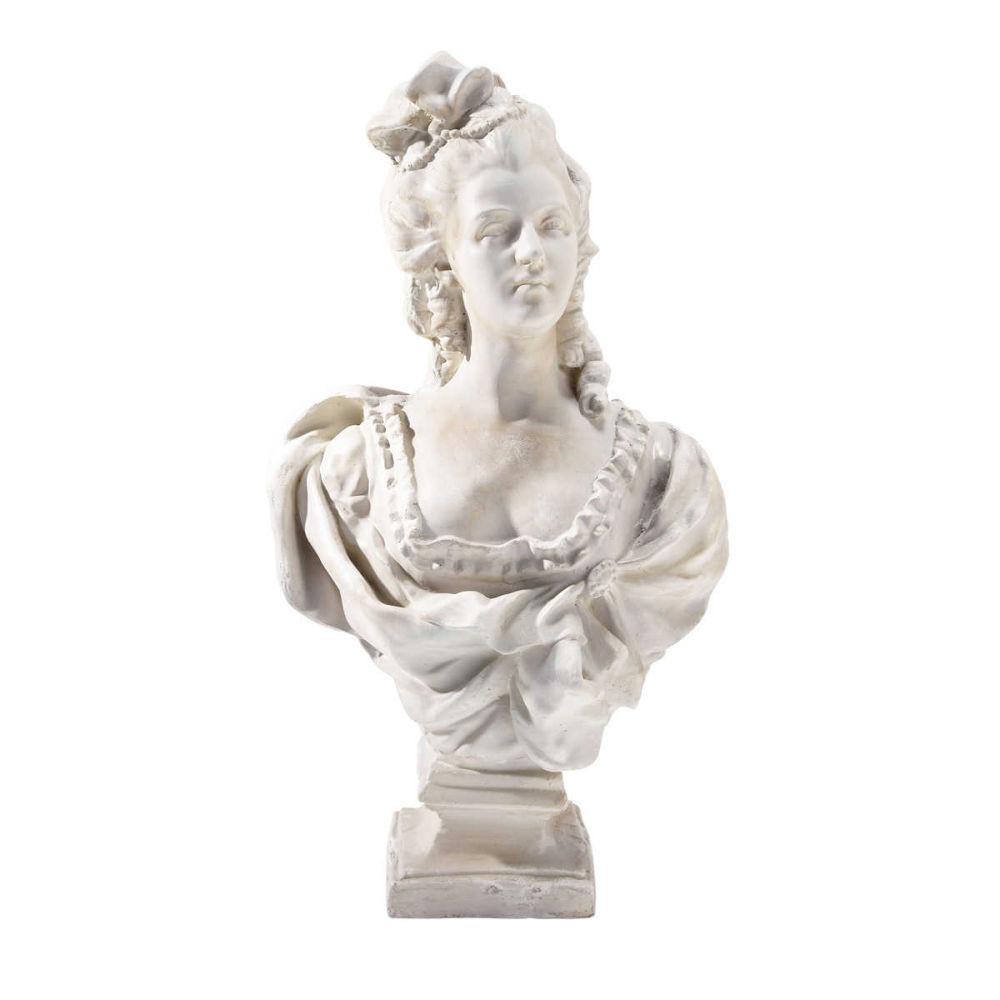 buste femme en magn 233 sie blanc h 67 cm aurore maisons du monde