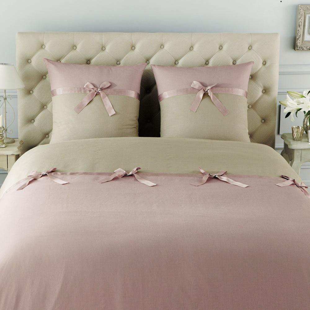 Tête de lit capitonnée vintage en lin L 142 cm