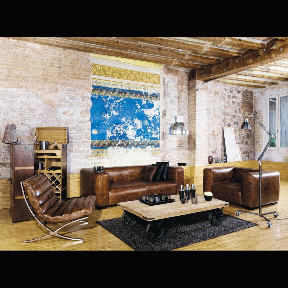 Bar jules verne jules verne maisons du monde for Fauteuil relax maison du monde