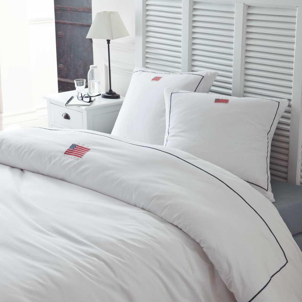 Parure ucla 240x220 maisons du monde for Linge de lit maison du monde