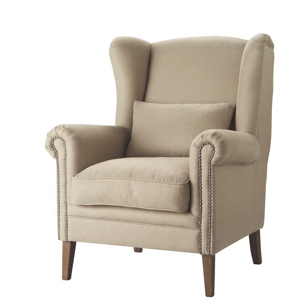 FR fr produits fiche fauteuil en lin octave