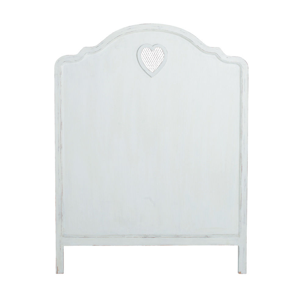 Tête de lit en bois blanc L 90 cm Valentine | Maisons du Monde