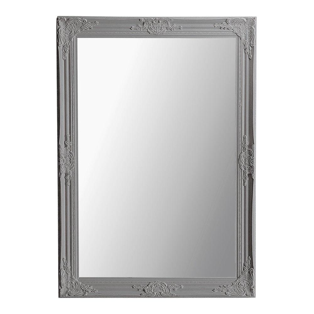 Maisons du monde for Miroir gris argent