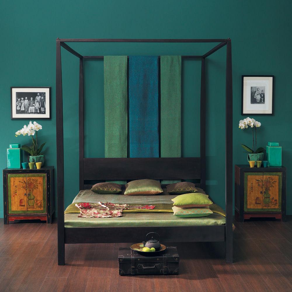 Lit Baldaquin Bois Maison Du Monde : voir d autres lits lits voir d autres produits du style exotique