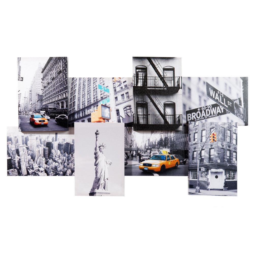 Maisons du monde for Deco murale new york couleur