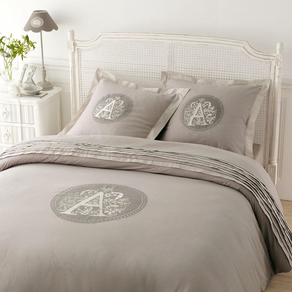 parure matrimoniale arme 240 x 220 cm maisons du monde. Black Bedroom Furniture Sets. Home Design Ideas