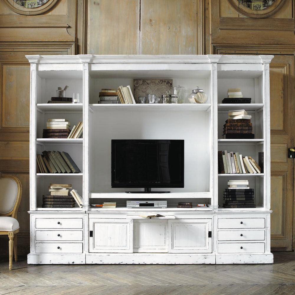 Ensemble Meuble Tv Bibliotheque : Meuble Tv Bibliotheque Ikea Pas Cher – Meuble Télévision ~ Meuble Tv
