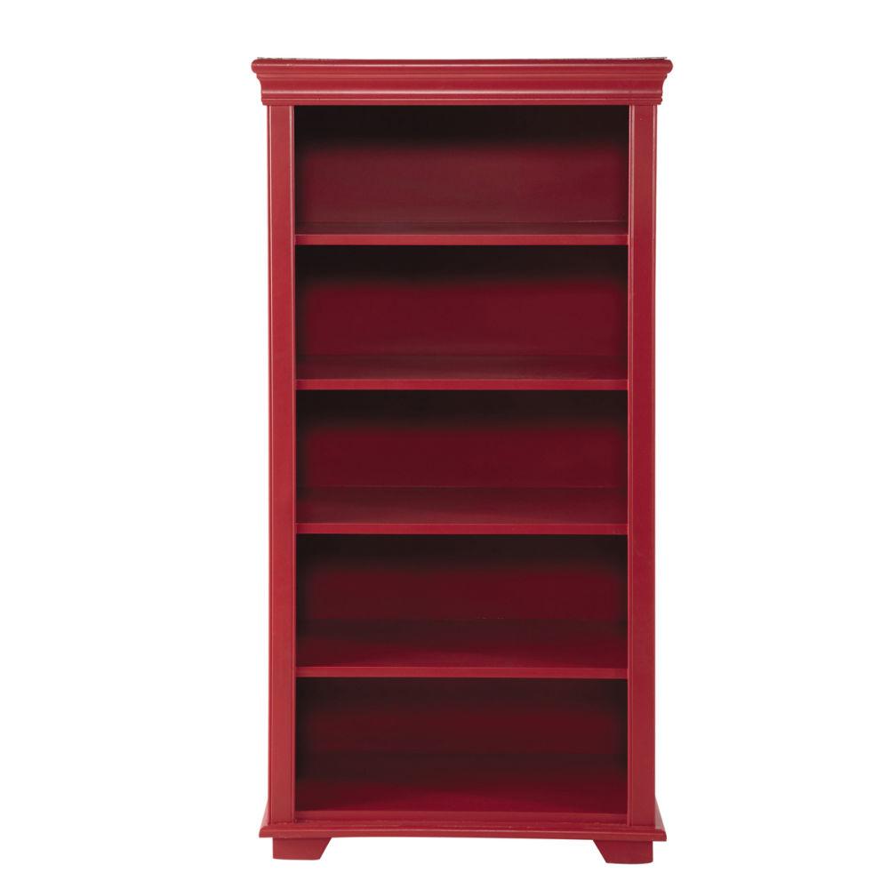 Biblioth que enfant rouge coccinelle maisons du monde - Bibliotheque meuble enfant ...