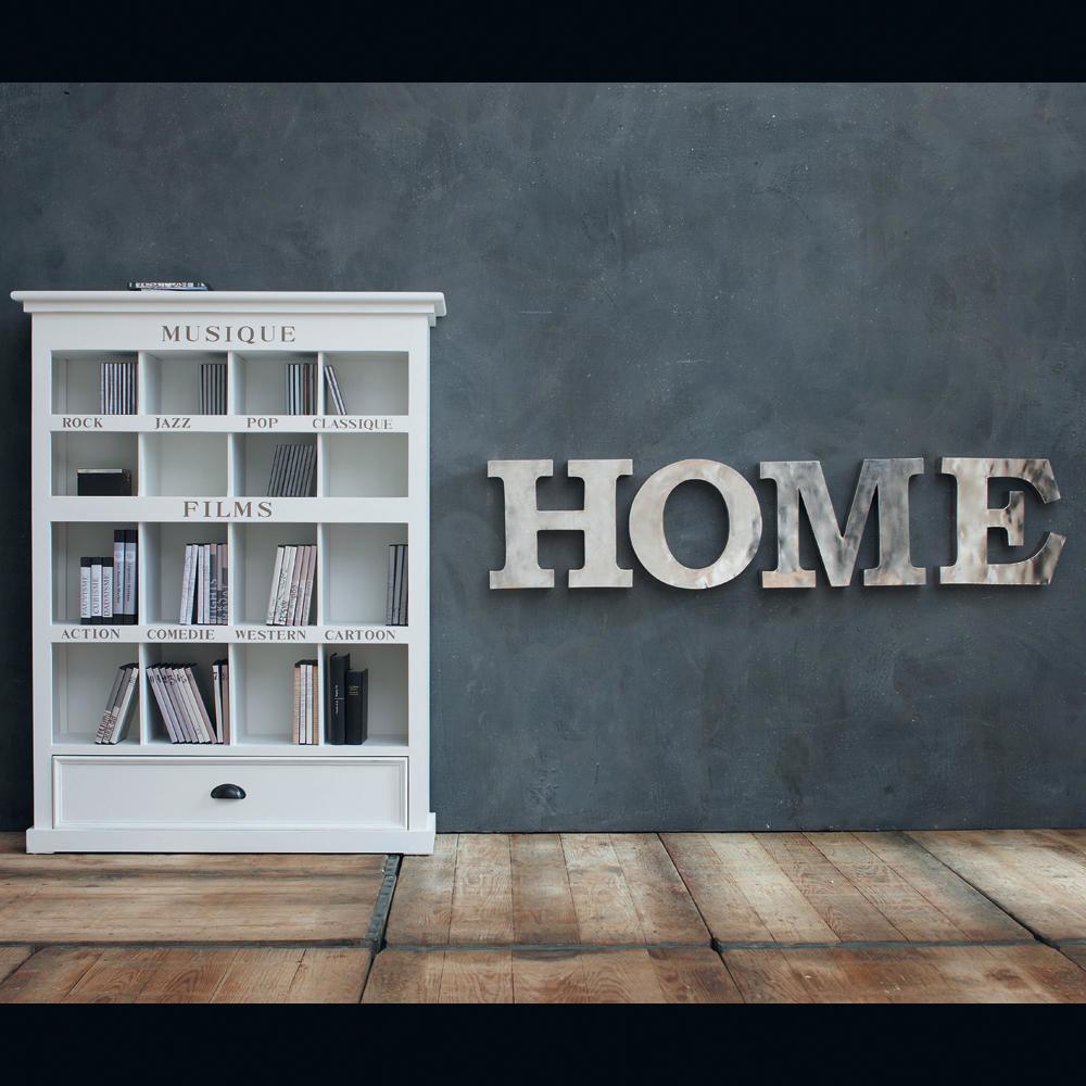 Lettres home maisons du monde - Lettre murale decorative ...
