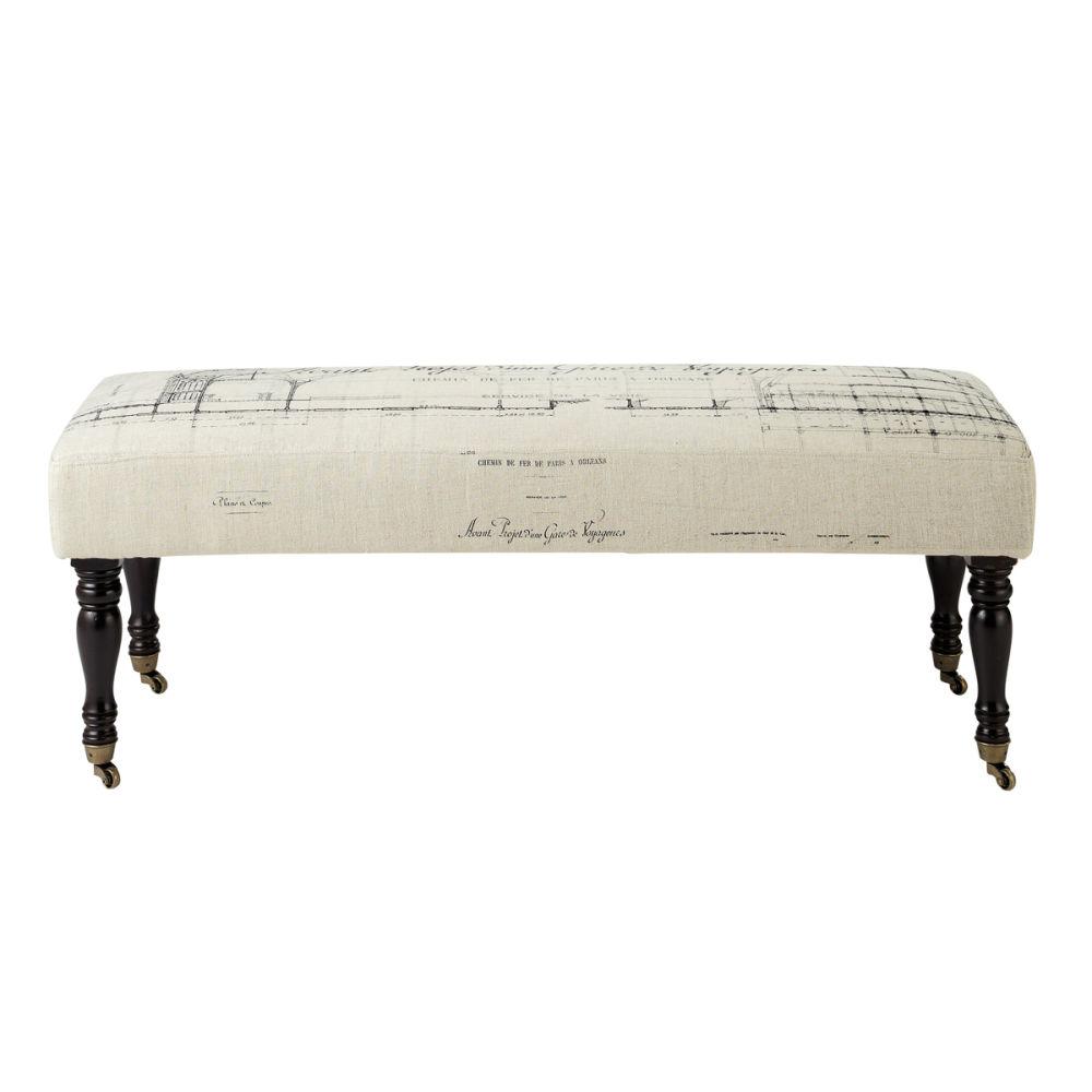 bout de lit chesterfield maison du monde ventana blog. Black Bedroom Furniture Sets. Home Design Ideas