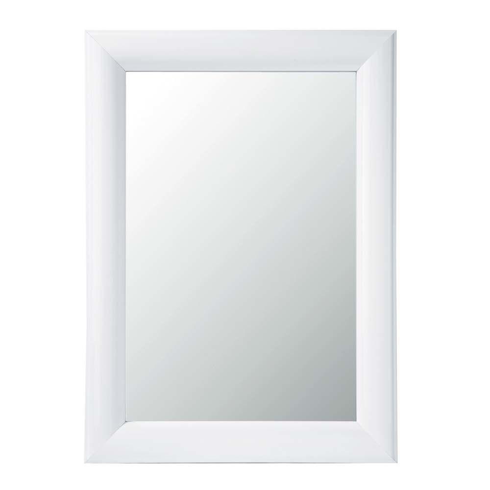 Glossy White Mirror Maisons Du Monde