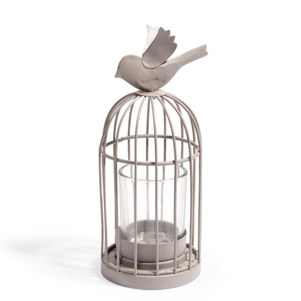 Bougeoir solo cage oiseau maisons du monde - Maison du monde cage oiseau ...