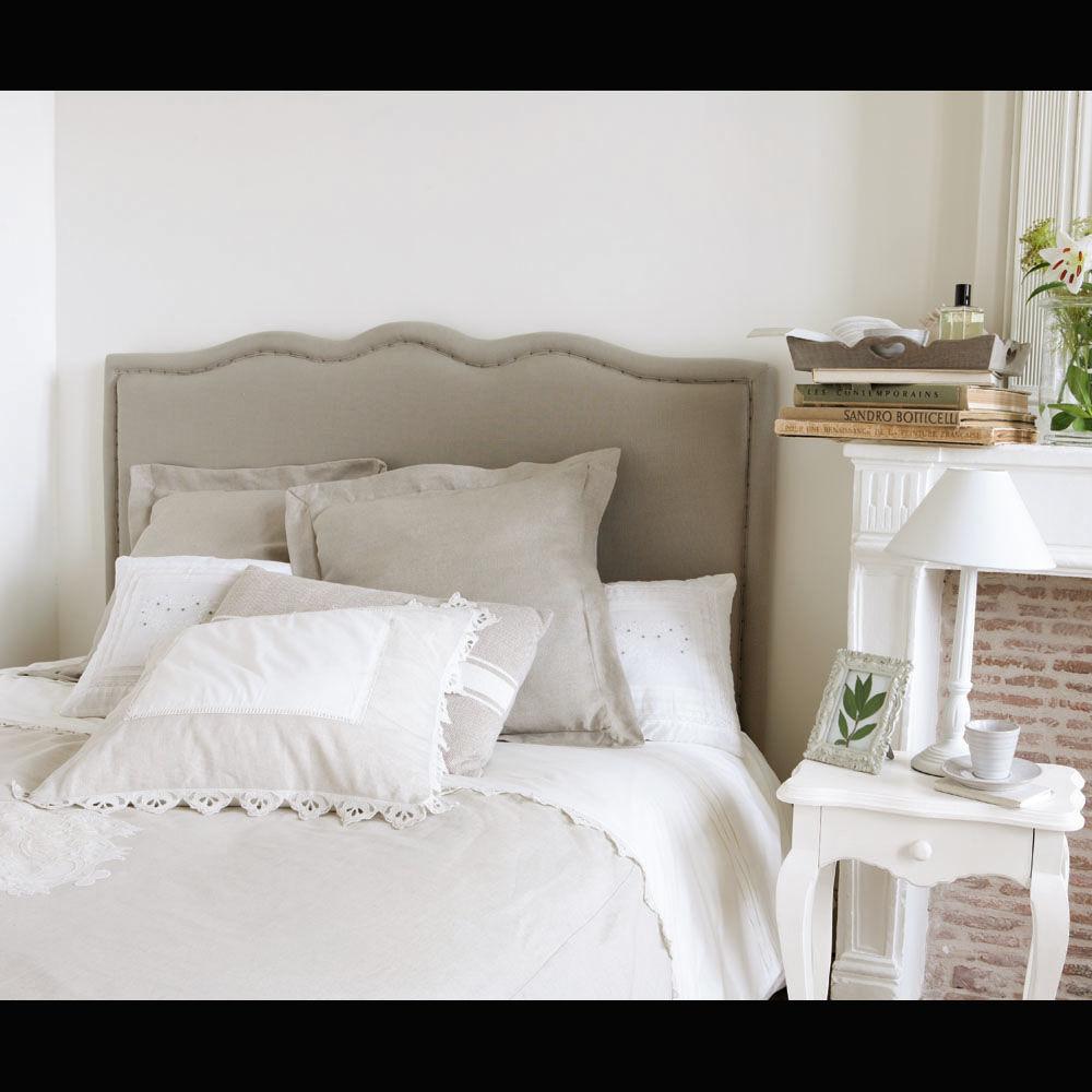 Ciel de lit en bois maison du monde for Maison du monde lit